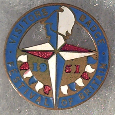 Festival of Britain Souvenir Badge